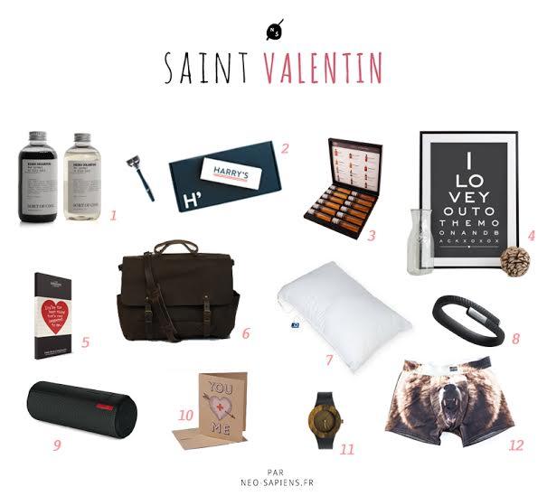 sélection originale pour hommes saint valentin