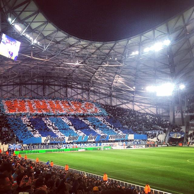 Supporter de choc ? 3-1 #marseille #velodrome