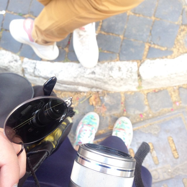 Let's begin the day ! ?? #olympuspen #fromwherewestand #rome