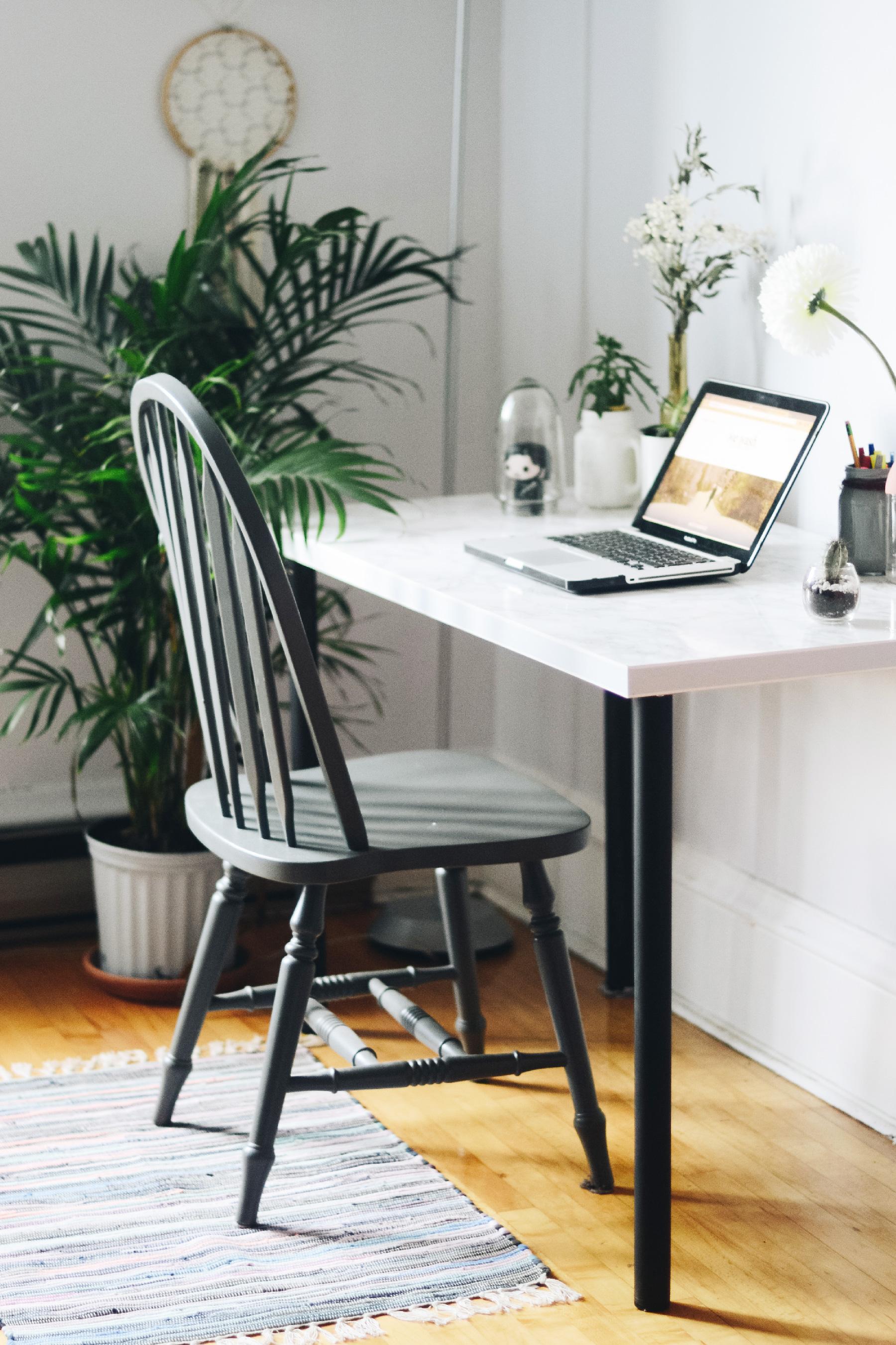 un coin bureau custom rapide et conomique we wash trash blog d co voyages authentiques. Black Bedroom Furniture Sets. Home Design Ideas