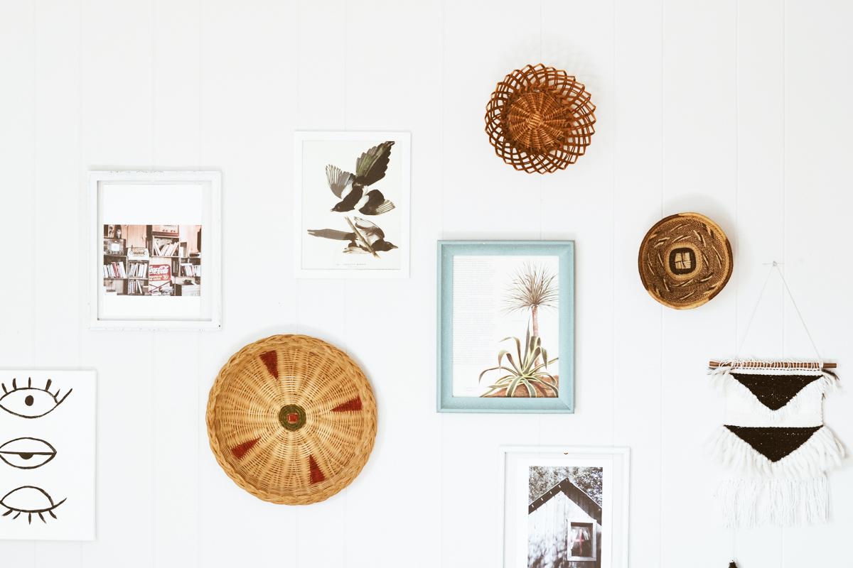 composition murale en we wash trash blog d co. Black Bedroom Furniture Sets. Home Design Ideas