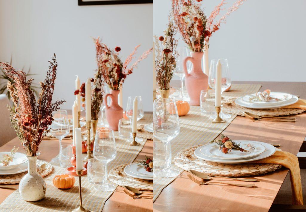 belle table thanksgiving terracotta